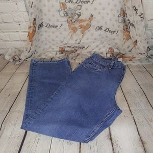 Gap Loose Fit Ankle Jeans Size 6